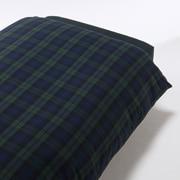棉法兰绒 被套  SD・170cm×210cm 绿色格纹