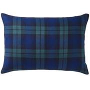 棉法兰绒 枕套  43×63cm用 绿色格纹