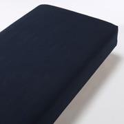 棉法兰绒 床罩  Q・160×200×18~28cm 海军蓝