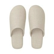 麻斜纹 柔软拖鞋 XL/26.5~28cm用