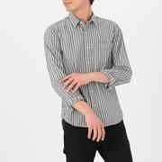 棉牛仔 条纹衬衫