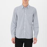棉平纹 条纹衬衫