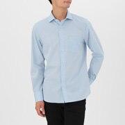 棉平纹定型 半宽领衬衫
