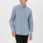 牛津棉定型 纽扣领衬衫