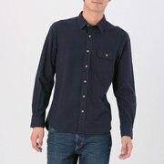 棉 牦牛绒翻口袋衬衫