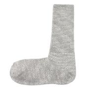 棉混合脚直角 竹节泡泡袜