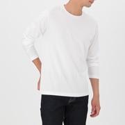 棉 圆领长袖T恤