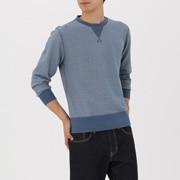 棉毛圈 条纹运动衫