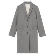 法国羊毛混 切斯特大衣