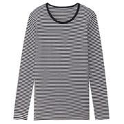 棉羊毛保暖双罗纹 圆领长袖T恤