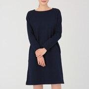 粗棉线 长袖连衣裙