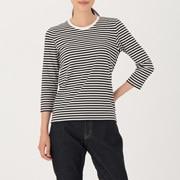 女式 棉 七分袖T恤