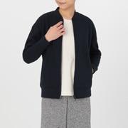 棉混长毛绒里 夹克
