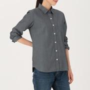 棉钱布雷 条纹衬衫