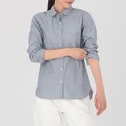 棉平纹 圆领衬衫