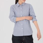 棉水洗 条纹衬衫