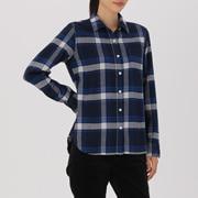 棉法兰绒 格子衬衫