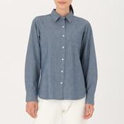 棉钱布雷 衬衫