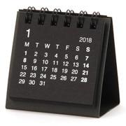 再生纸桌上迷你日历 2018年