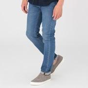 棉弹力 牛仔修身裤