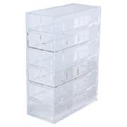 亚克力横竖皆可使用的小物收纳盒 小物收纳盒・6层