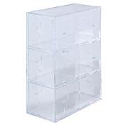 亚克力横竖皆可使用的小物收纳盒 小物收纳盒・3层