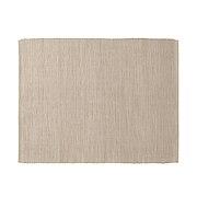 印度棉手工编织午餐垫/浅棕色 约长45×宽35cm