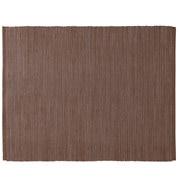印度棉手工编织午餐垫/棕色 约长45×宽35cm