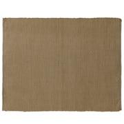 印度棉手工编织午餐垫/苔绿色 约长45×宽35cm