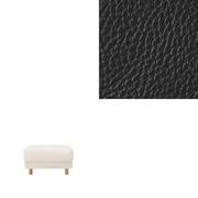 沙发主体/搁脚凳/大用皮套/黑色