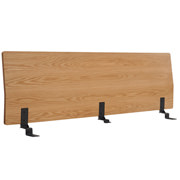 床框用床头板 / 加宽双人 / 橡木 / 长171×宽8×高53cm