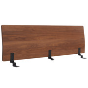 床框用床头板 / 加宽双人 / 胡桃木 / 长171×宽8×高53cm