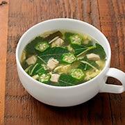 秋葵蔬菜浓汤