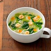 虾仁菠菜清汤