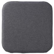 聚氨酯泡沫低反弹坐垫 方形 混炭灰色 36×36cm