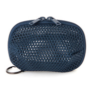 聚酯纤维 立体网眼化妆包・大 海军蓝 约7×8cm