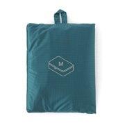 滑翔伞梭织布 可折叠旅行用收纳包・中 / 约26×40×10cm / 水蓝色