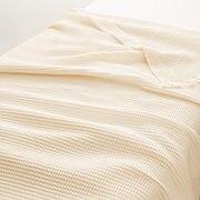 棉 蜂窝纹毛巾被