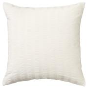 棉泡泡纱 座垫套 / 本白色 / 55×59cm用
