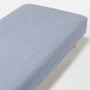 水洗棉 床罩 / 海军蓝 / 180×200×18~28cm用