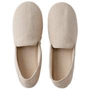 麻平织 家居鞋 / L / 25~26.5cm用 / 生成色