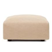 棉聚酯纤维花式织单元沙发/搁脚凳/大/长77cm用沙发套/米色