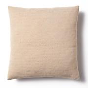 棉聚酯纤维花式织单元沙发用羽毛靠垫套 / 米色