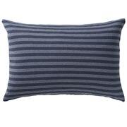 棉天竺 枕套 / 43×100cm用 / 海军蓝条纹