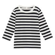 日常儿童 棉 条纹长袖T恤