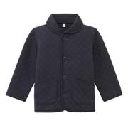 棉混针织 绗缝夹克