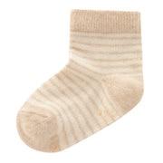 无染色棉混 袜子