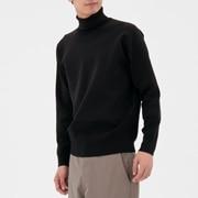 米兰诺罗纹 高领毛衣
