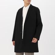 粘胶纤维混 复合面料大衣