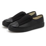 无鞋带 皮革运动鞋